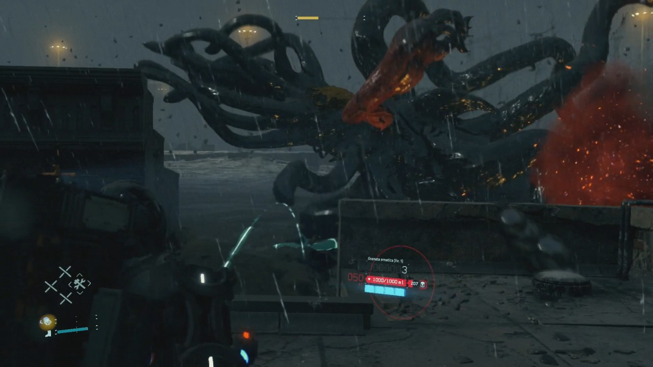 Death Stranding scontro contro bestia CA