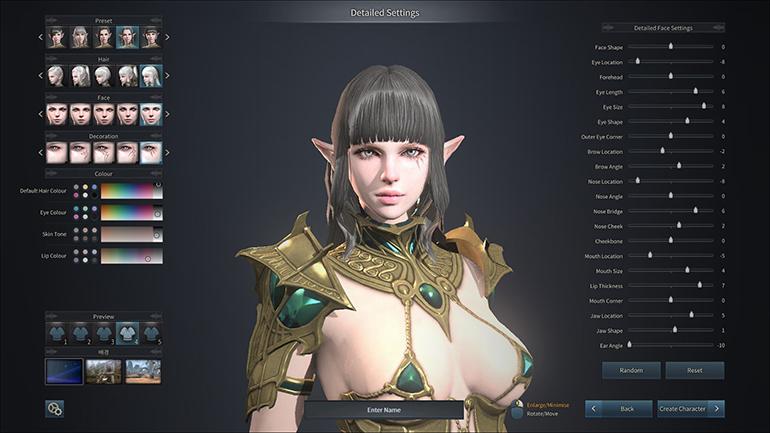 Kingdom Under Fire 2 - editor female