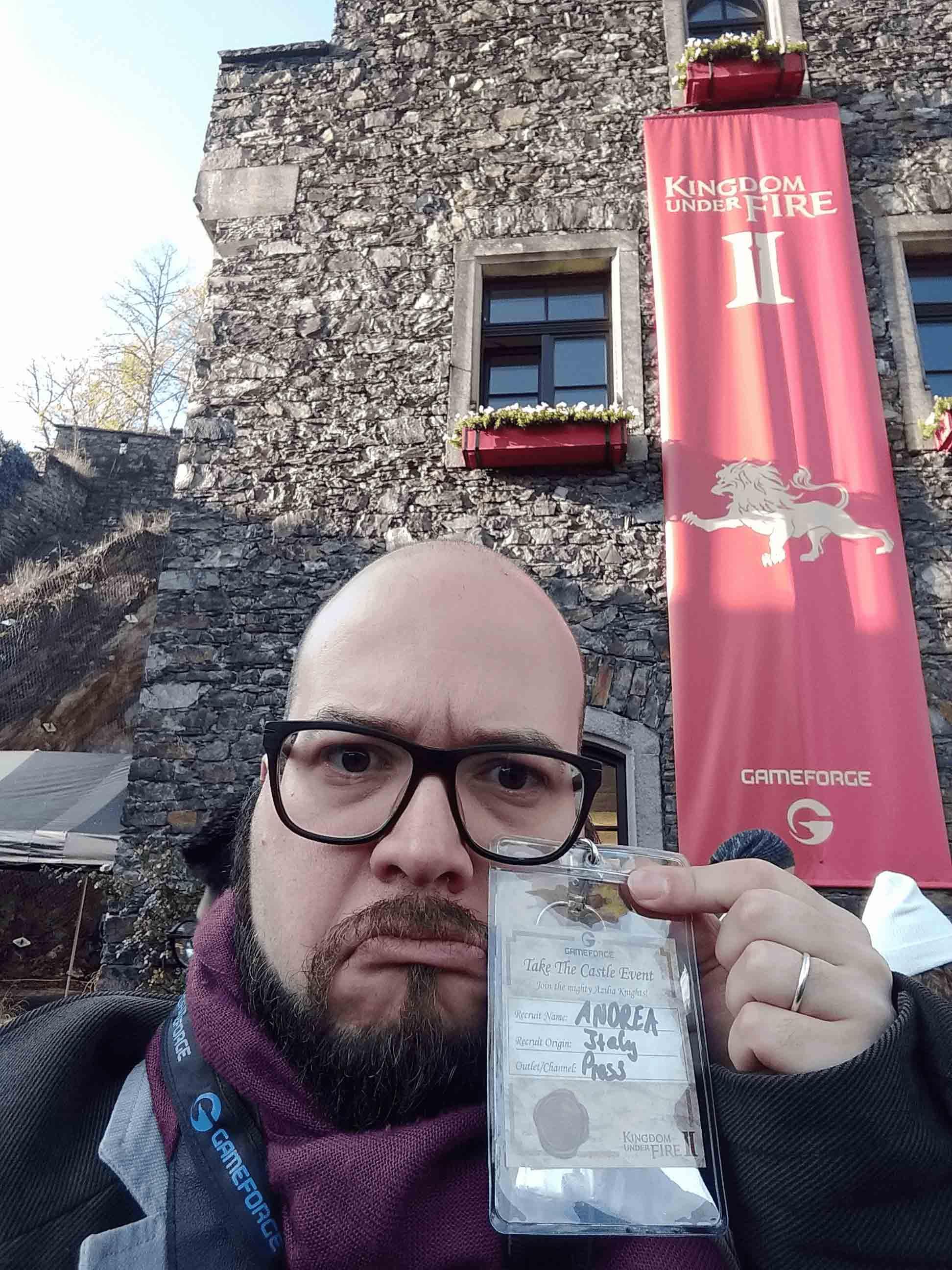 Kingdom Under Fire II - Take the Castle Pre-Launch Evento Castle Reichenstein