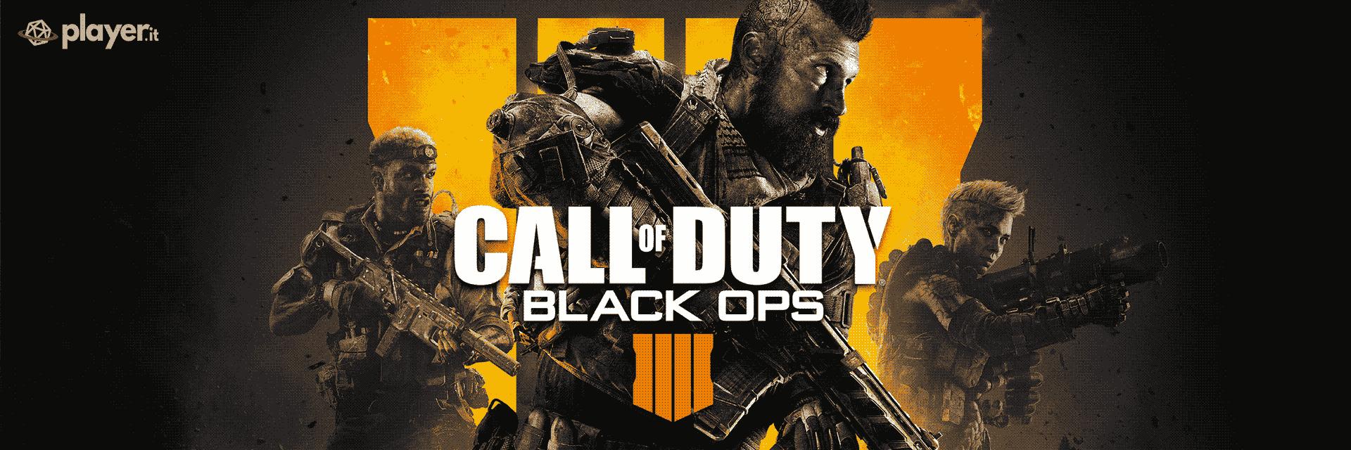 La copertina di Call of Duty: Black Ops IV