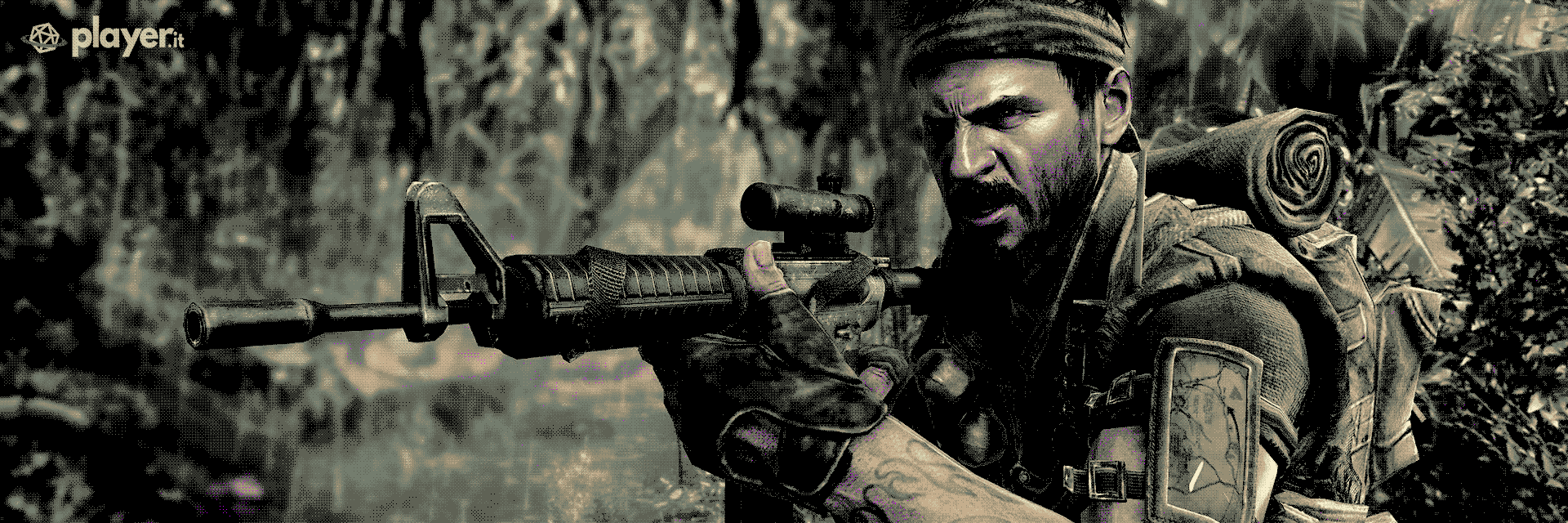 La copertina di Call of Duty: Black Ops