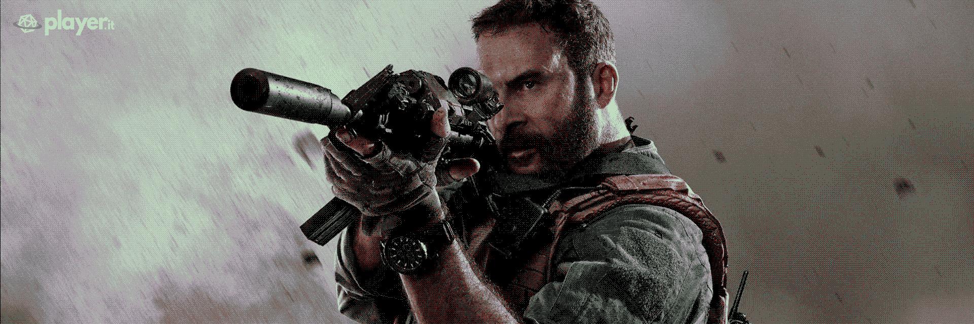 La copertina di Call of Duty: Modern Warfare