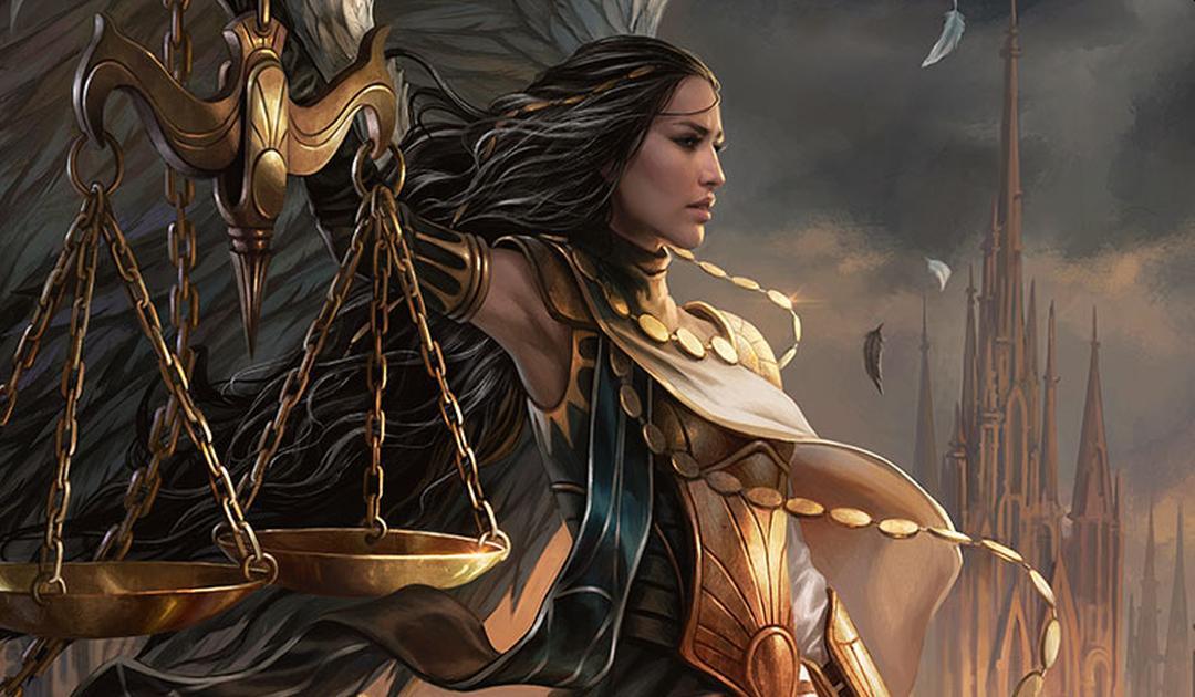 Artwork per la carta Seraph of the Scales di Magic: The Gathering