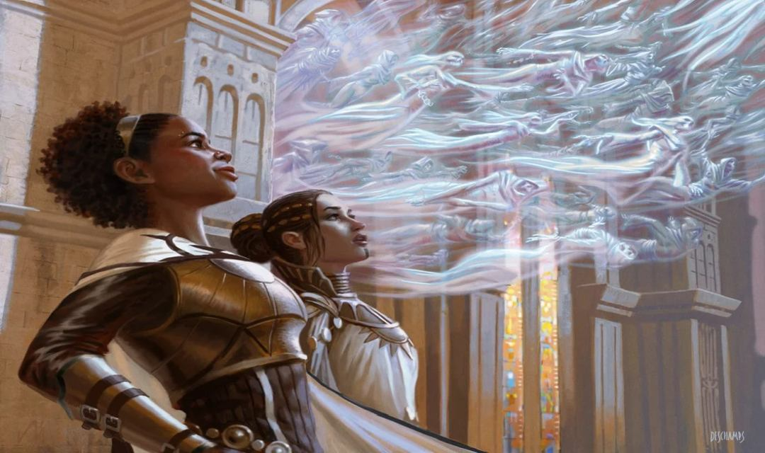 Artwork della carta Ethereal Absolution di Magic: The Gathering