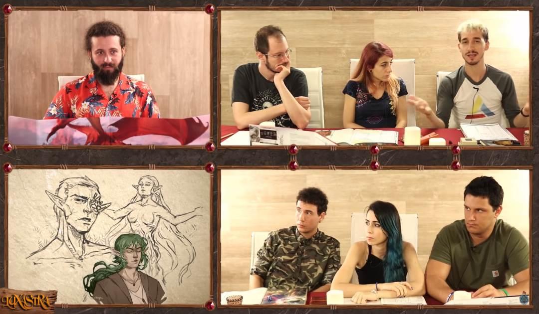 Screenshot dall'episodio 10 di Luxastra che mostra Galgith rievocare i propri ricordi