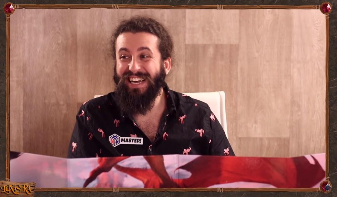 Screenshot che mostra il faccione di Matt nell'episodio 11 di Luxastra