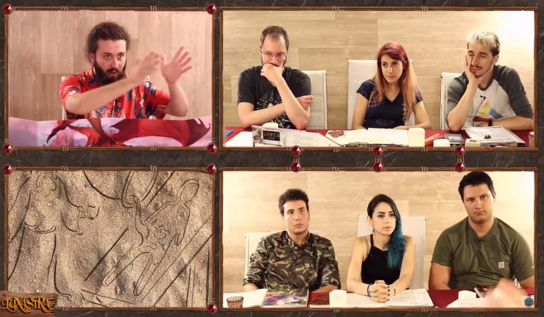 Screenshot che mostra la nascita di Letho nell'Episodio 11 di Luxastra