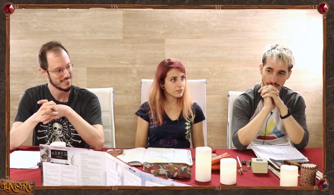 Screenshot dell'episodio 8 di Luxastra
