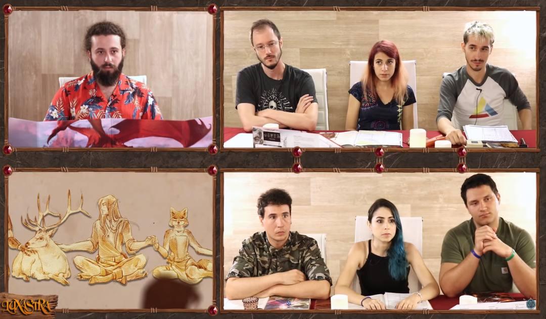 Screenshot dell'episodio 8 di Luxastra che rappresenta il Mondo Onirico
