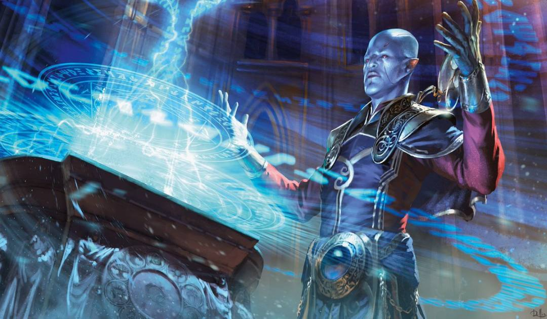 Artwork della carta Emergency Powers in Magic