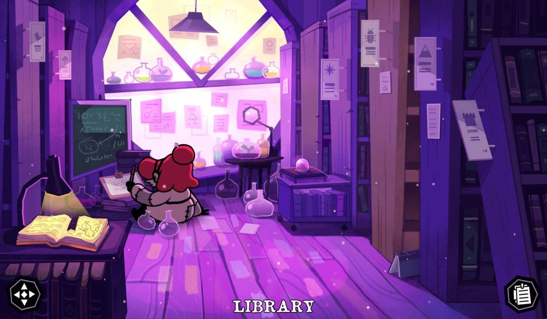 Screenshot della stanza di Fifi in Tangle Tower