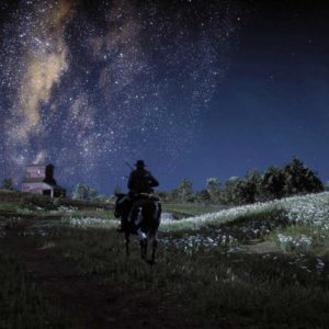 Milky way in Red Dead Redemption 2