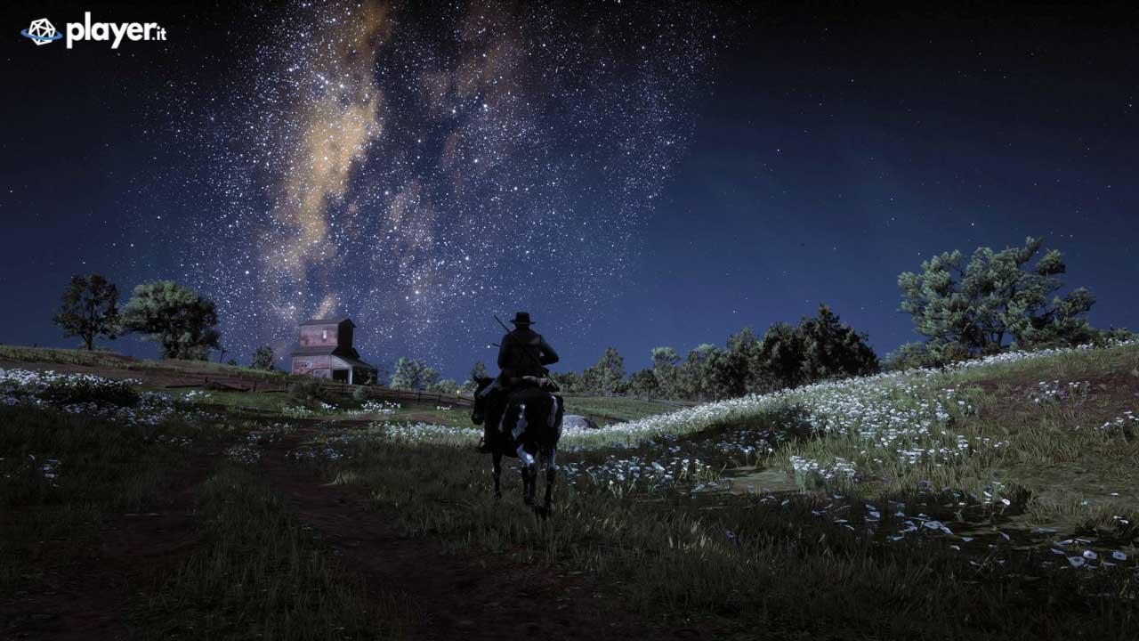 Milky way in Red Dead Redemption 2