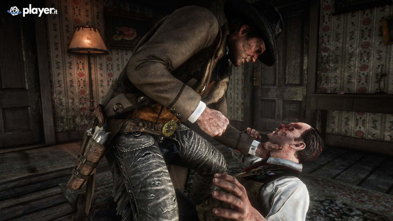 Scazzottata in Red Dead Redemption 2