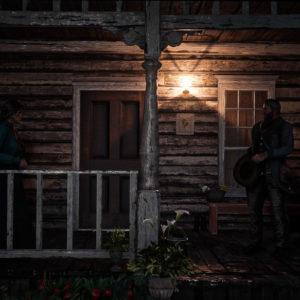 Addio tra due innamorati in Red Dead Redemption 2
