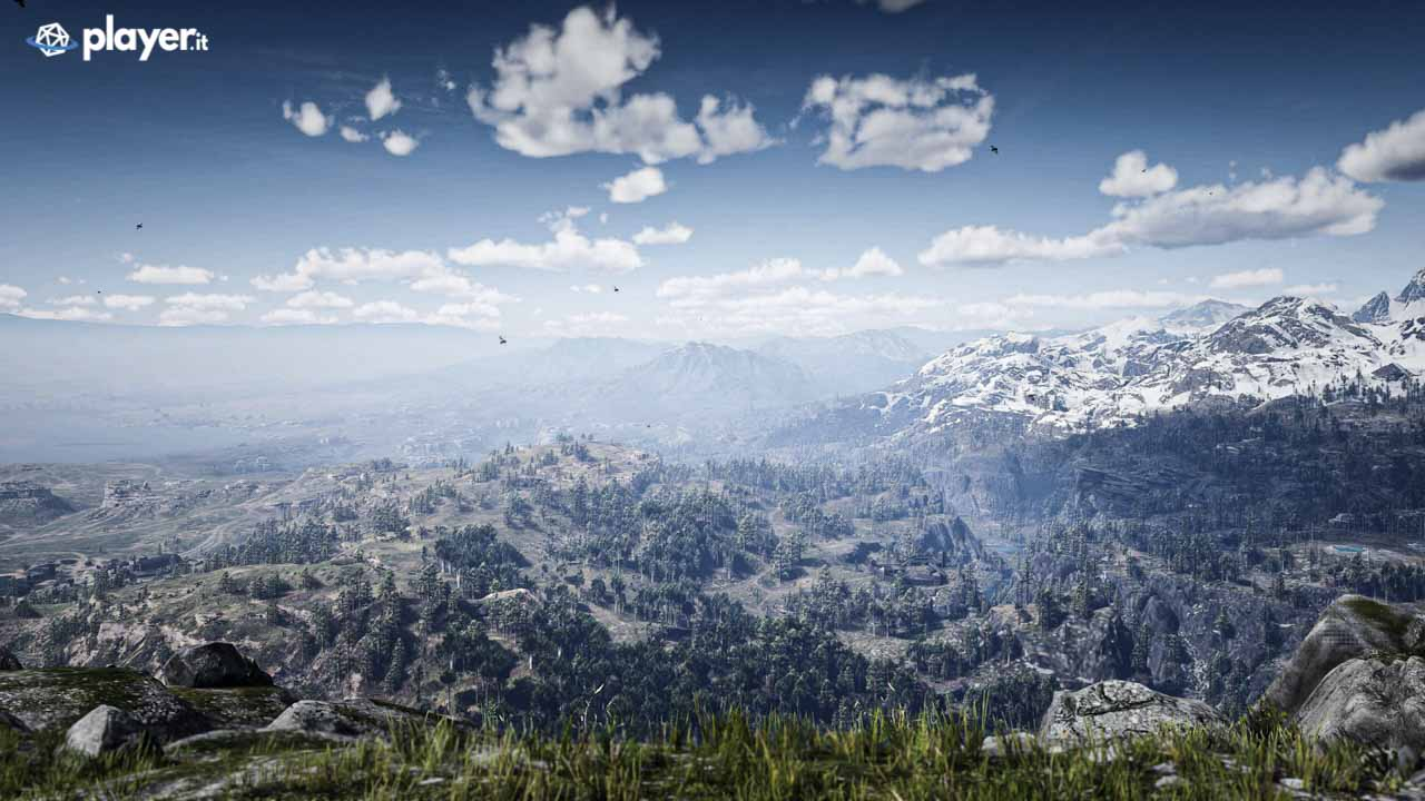 Paesaggio in Red Dead Redemption 2