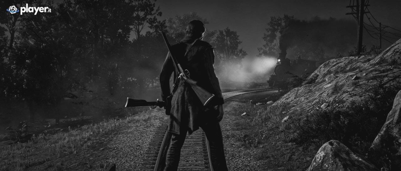 A faccia a faccia con un treno in Red Dead Redemption 2