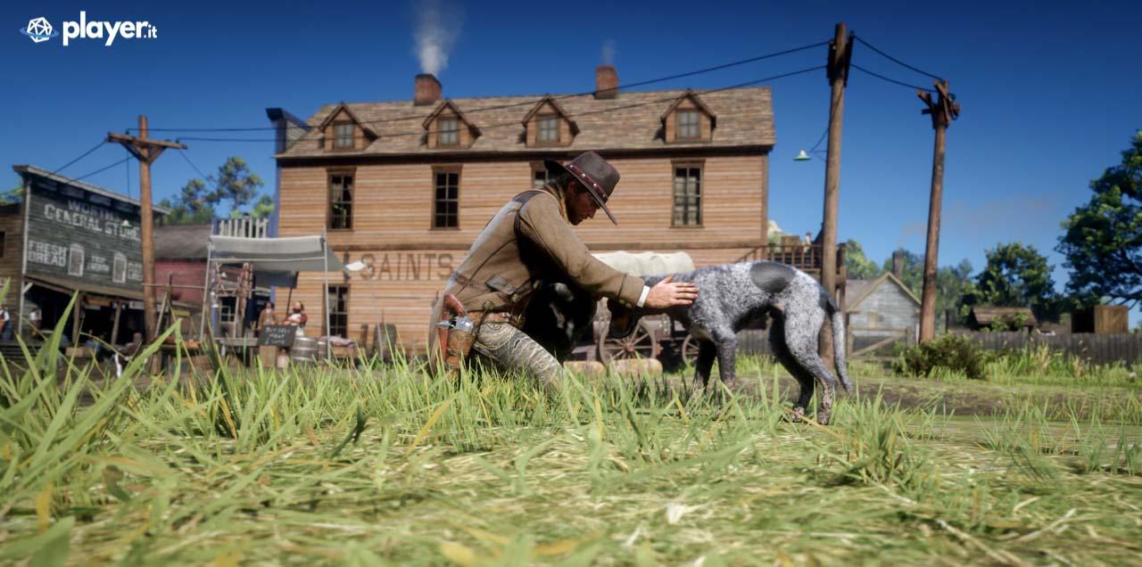 Accarezzare i cani in Red Dead Redemption 2
