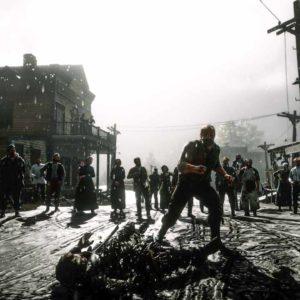 Scazzottata nel fango in Red Dead Redemption 2