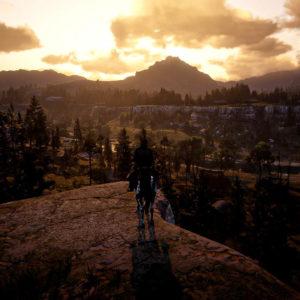 Paesaggio alla Ansel Adams in Red Dead Redemption 2