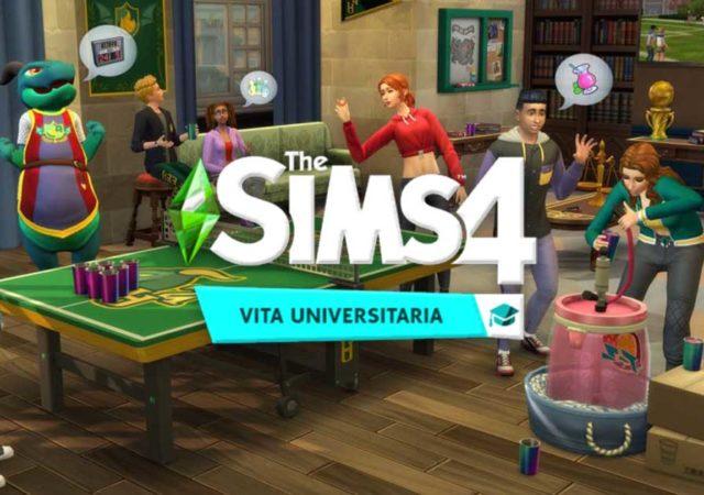 The Sims 4 Vita Universitaria recensione della nuova espansione di Maxis