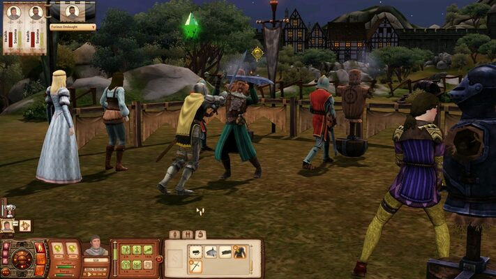 The sims medieval maxis
