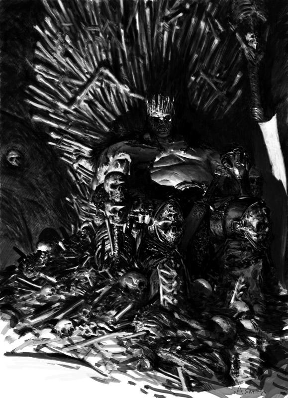Adrian Smith mostra, Mostra Lucca Comics & Games 2019, Hate, A World of Hate, illustrazione fantasy, illustratore, incontro con l'autore, illustrazione bianco e nero