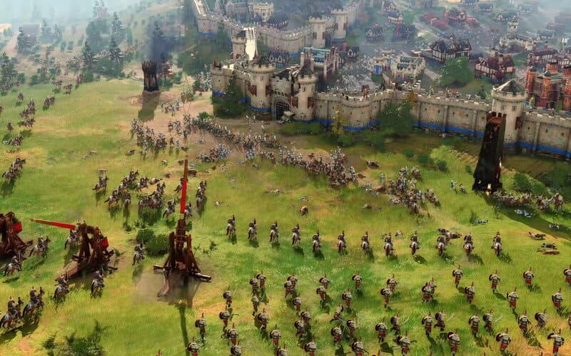 Age of Empires 4, gioco strategico, Age of Empires, X019, Microsoft