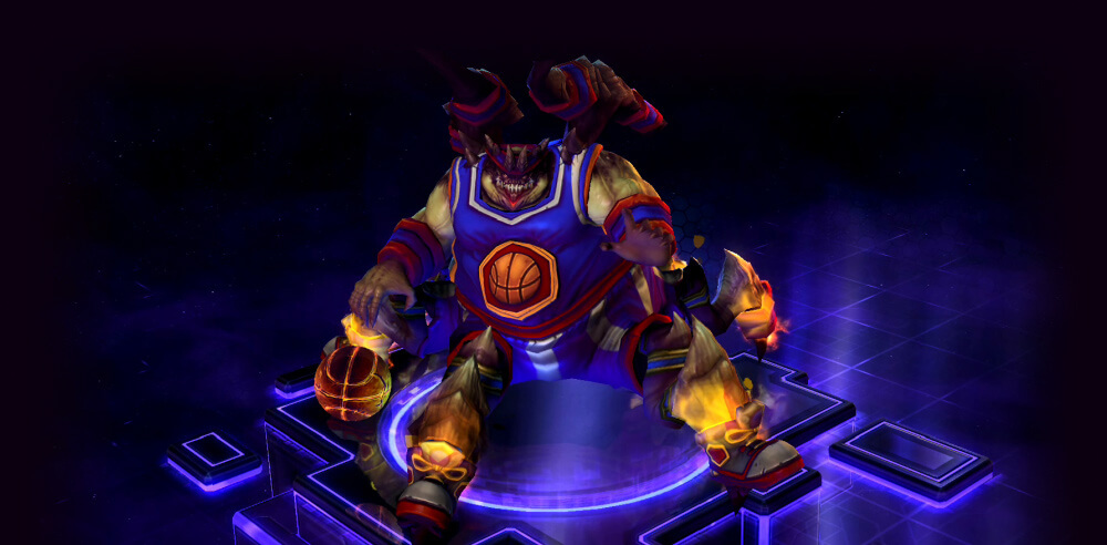 heroes of the storm skin azmodunk funny