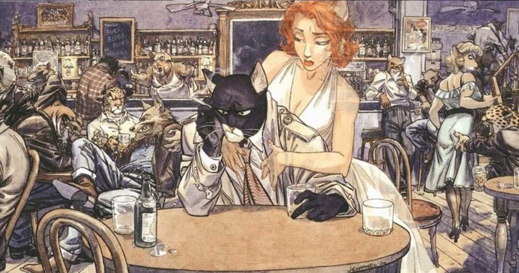 Blacksad: Under the skin recensione