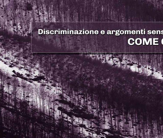 discriminazione e argomenti sensibili nel gioco di ruolo, come gestirli