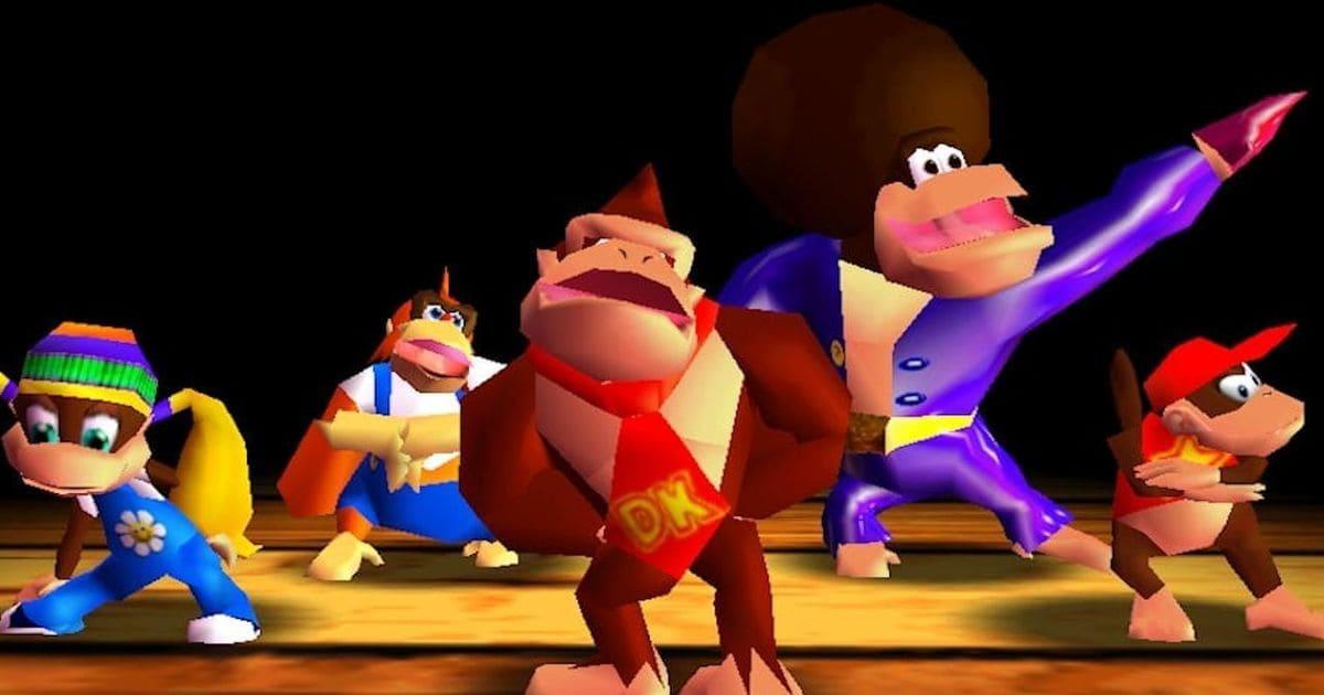 Donkey Kong, Donkey Kong 3d, Nintendo 64