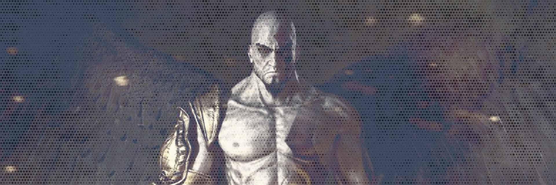 la copertina di god of war 3