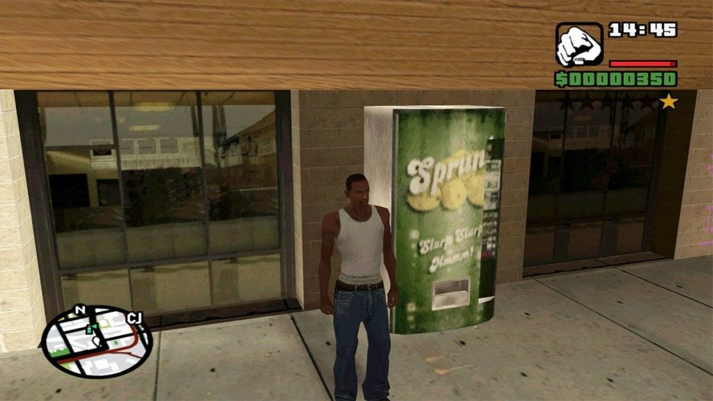 grand theft auto sprunk game ads