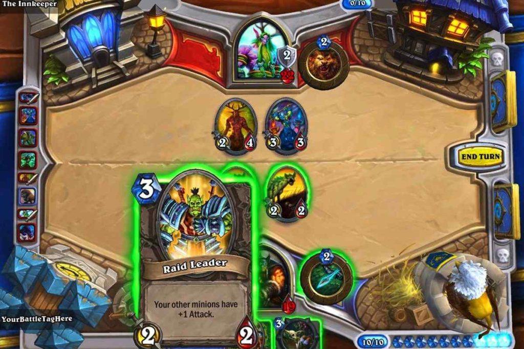 heartstone gameplay