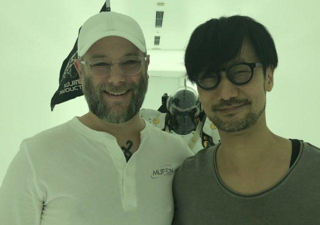 Foto copertina con Barlog e Kojima