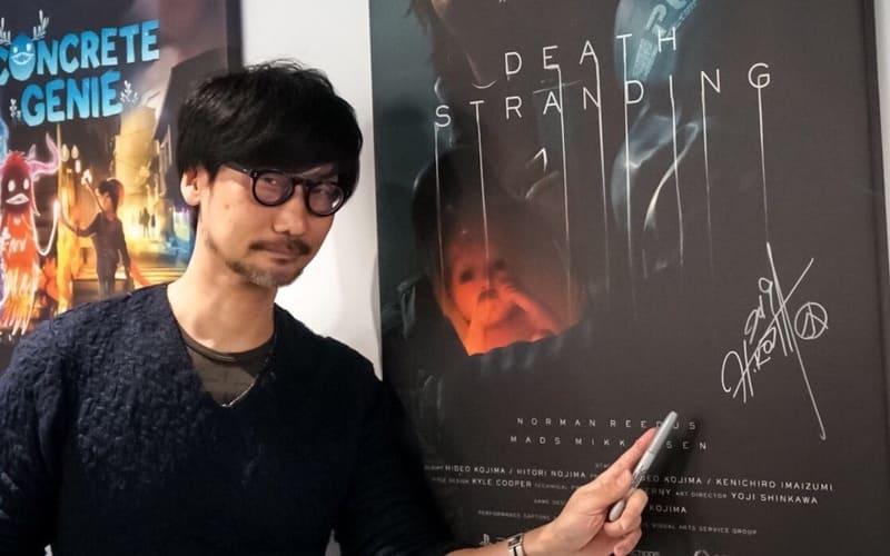 Una foto di repertorio di Hideo Kojima