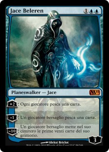 carta di magic the gathering, per la precisione JACE BELEREN