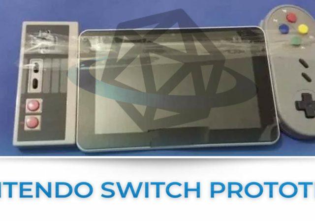 Tutte le news sul prototipo di nintendo switch