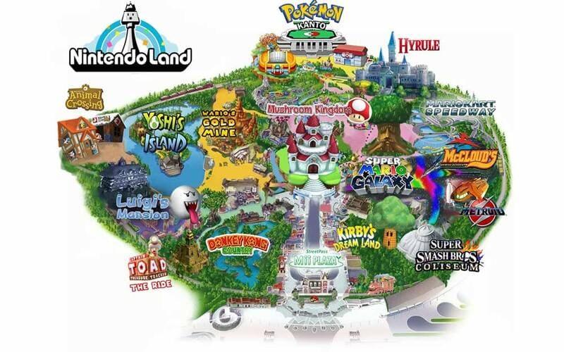 Nintendo Land, parco a tema Nintendo, parco Nintendo