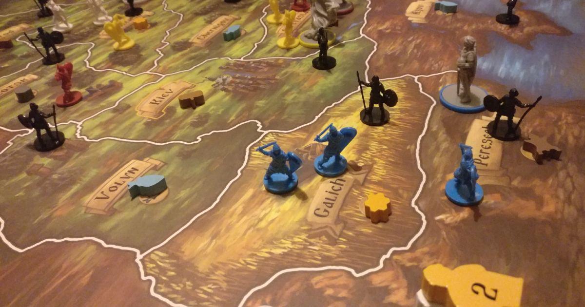 player rurik l'alba di kiev mappa
