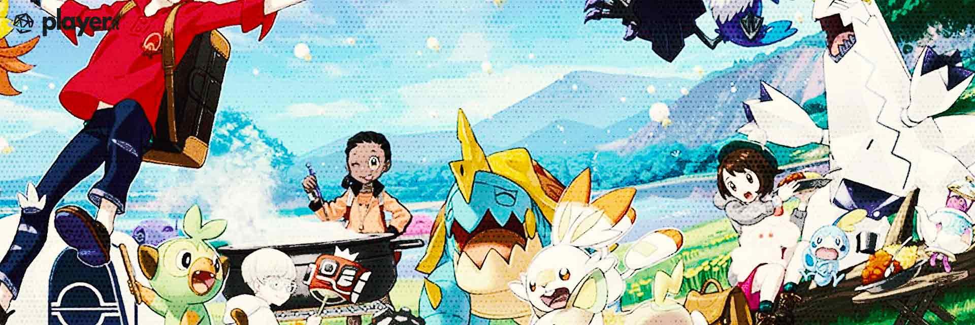 pokemon spada e scudo wallpaper del gioco