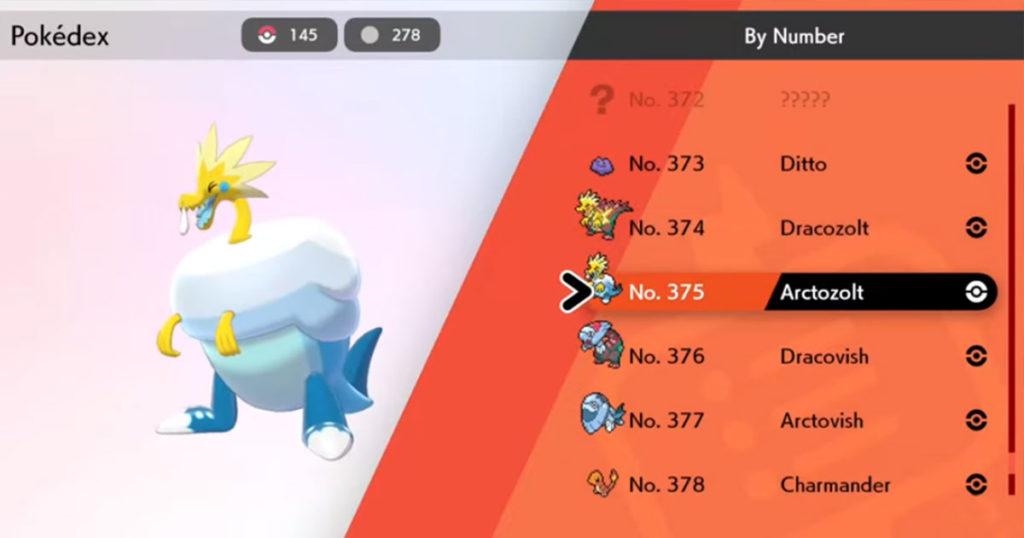 Pokemon Spada e scudo: come ottenere i Pokemon Fossile