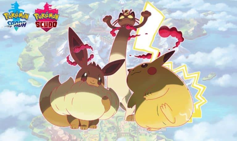 Come ottenere Meowth Gigamax, Pikachu Gigamax e Eevee Gigamax in Pokemon Spada e Scudo