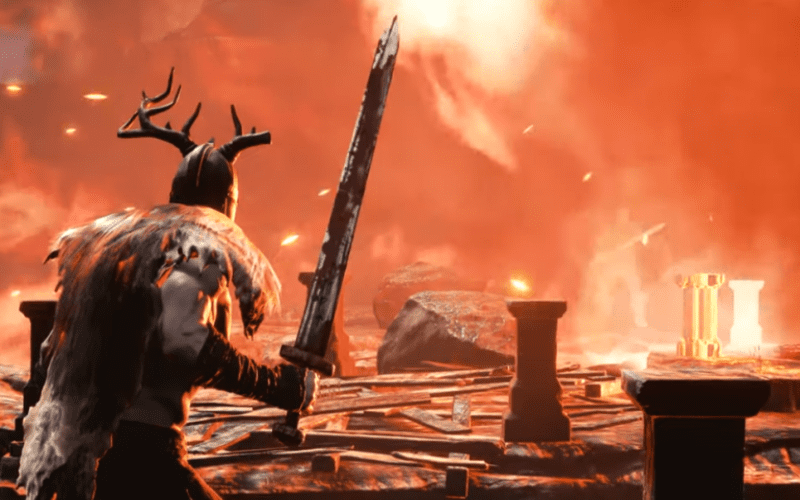 Screenshot di Rune II, action rpg