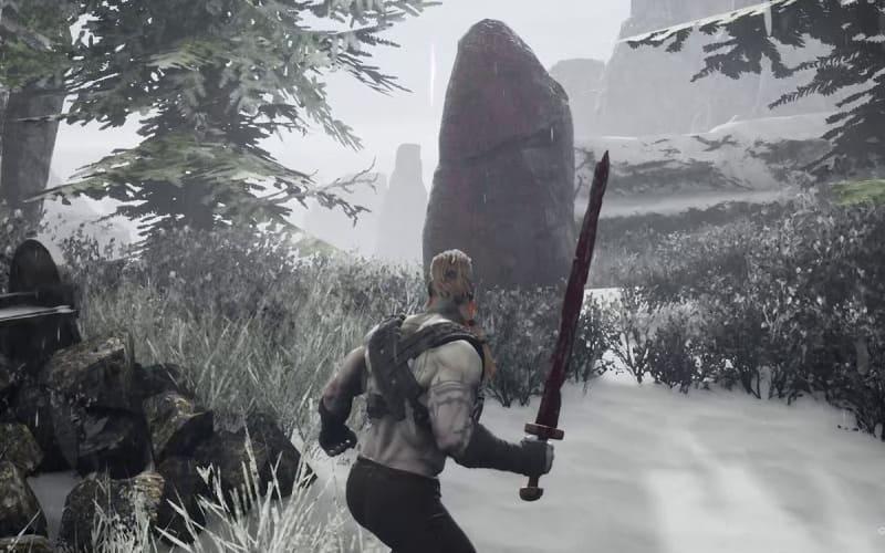 Una screen da Rune II