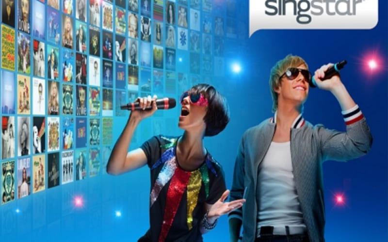 Un'immagine promozionale di SingStar