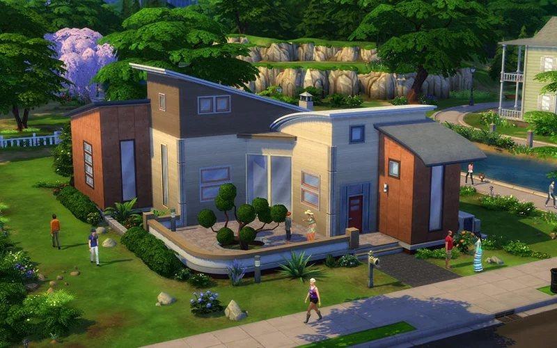 the sims 4 casa
