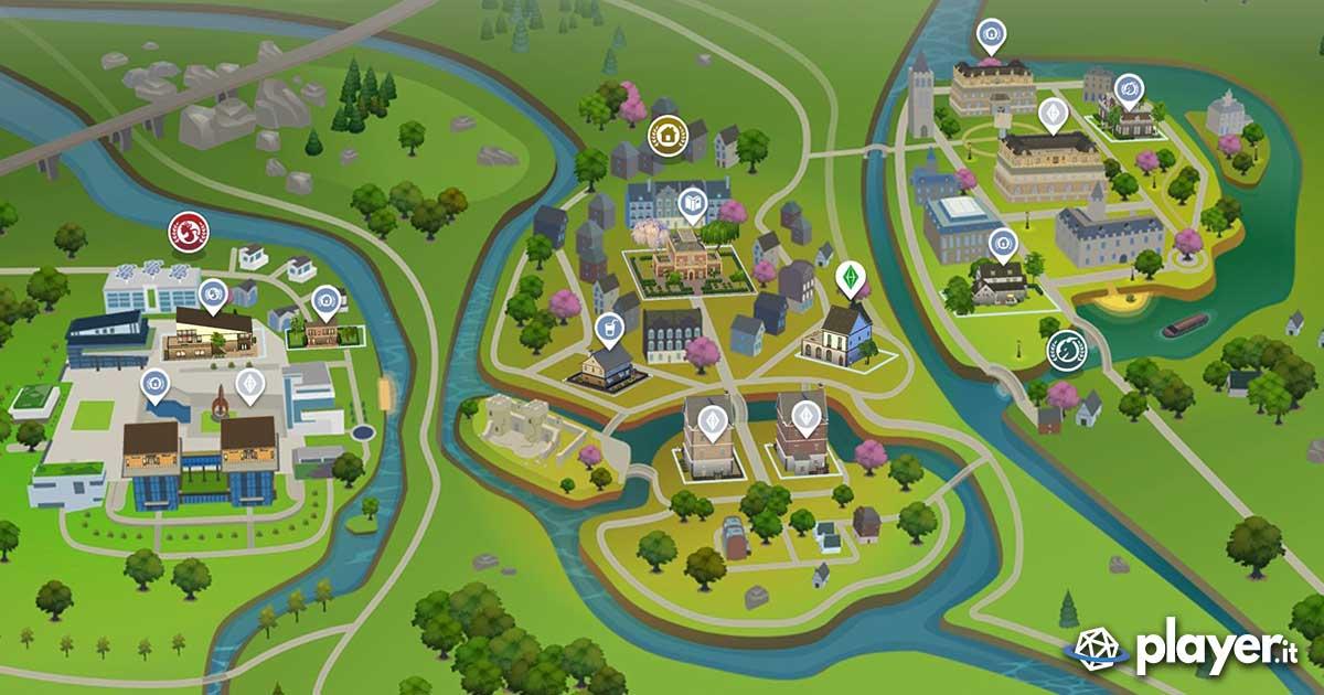 The Sims Discover University, il nuovo quartiere
