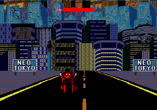 Akira-il-prototipo-per-Sega-Mega-Drive-primo-livello-in-moto